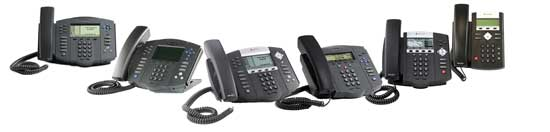 Polycom Soundpoint IP Phone 400, 500 and 600 Series