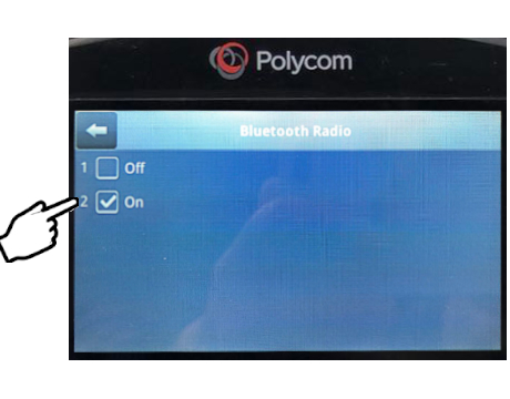 Polyco phone Bluetooth Radio page