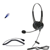 Polycom headset with 2 earpieces and microphone thumbnail